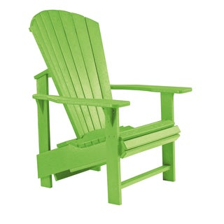 Generations Lime Green Upright Adirondack Chair
