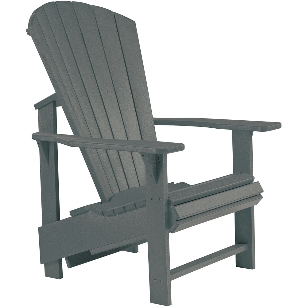 Generations Slate Upright Adirondack Chair (Slate), Grey,...