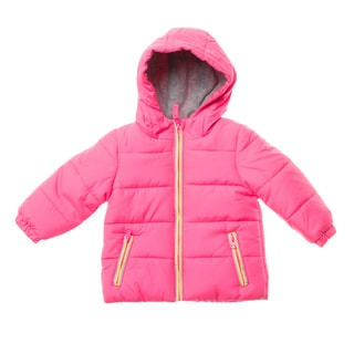 London Fog Infant Girl Bubble Coat