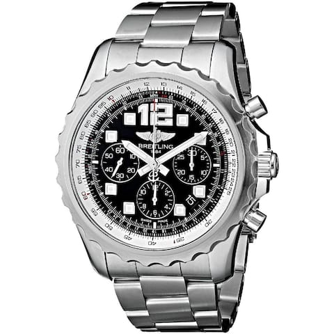 Breitling Men's A2336035-BA68 'ChronoSpace' Automatic Chronograph Silver Stainless steel Watch