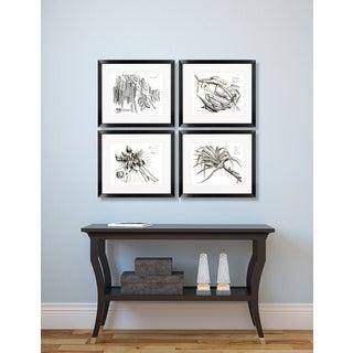 Hortus Moderne 4-piece Framed Art Print Set