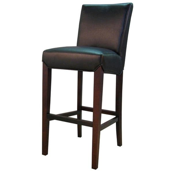 Magnificent Shop Milton Bonded Leather Bar Stool Free Shipping Today Andrewgaddart Wooden Chair Designs For Living Room Andrewgaddartcom