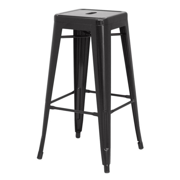 Metropolis Metal Backless Bar Stool Set Of 2 Free