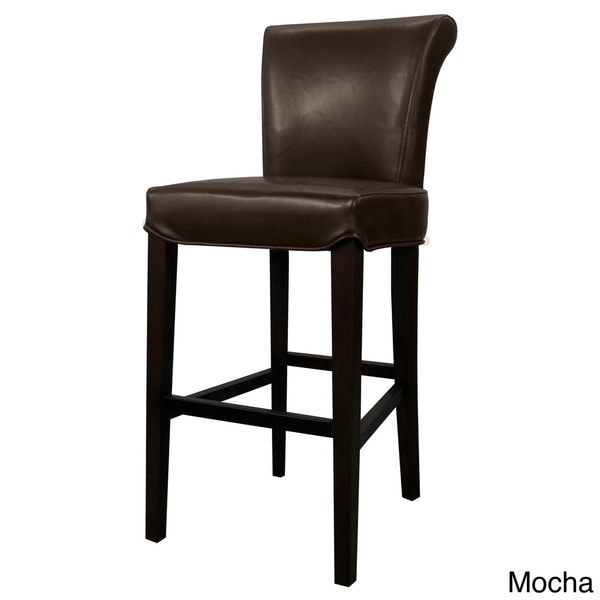 Bentley Leather Counter Stool - Free Shipping Today - Overstock.com - 17365280  sc 1 st  Overstock.com & Bentley Leather Counter Stool - Free Shipping Today - Overstock ... islam-shia.org