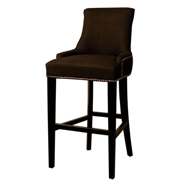 shop charlotte fabric kitchen counter stool  on sale
