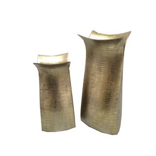 Aurelle Home Corter Vase Small Bronze