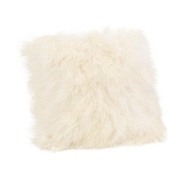 Aurelle Home Lamb Faux Fur 22 inch Throw Pillow
