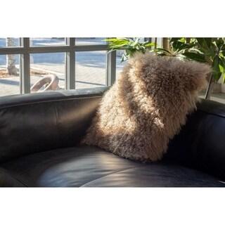 Aurelle Home Soft Lamb 22-inch Throw Pillow