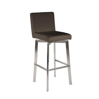 Aurelle Home Modern Barstool Grey