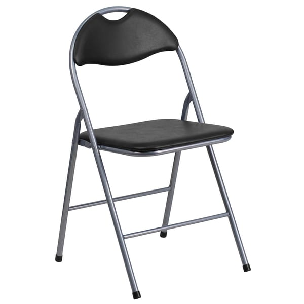 Black Metal Folding Chair Free Shipping Orders Over $45 Overstock