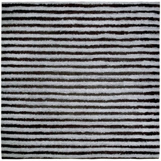 Thick Stripe Outdoor Rug (8' x 8')