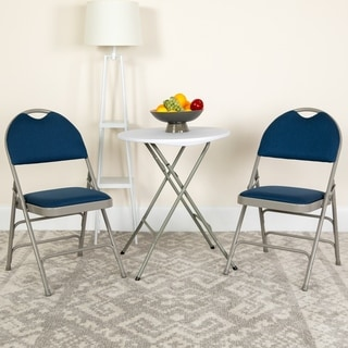 Blue, Red or Beige Folding Chair