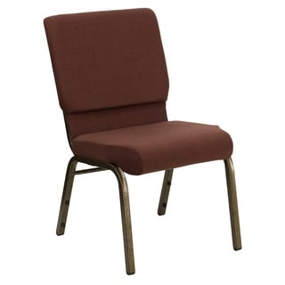 Brown Goldvein Church Chair