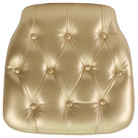Hard Tufted Vinyl Chiavari Chair Cushion - Event Accessories