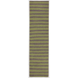 Thick Stripe Outdoor Rug (2' x 8')