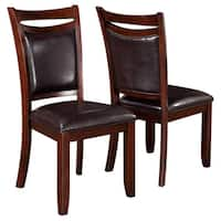 Rosely Contemporary Wood Dining Chairs (Set of 2)