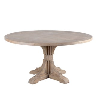 French Bracket Round Dining Table