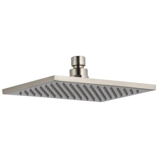 Delta Single Setting Overhead Stainless Steel Finish Shower Head