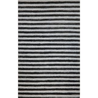 Thick Stripe Outdoor Rug (3'6 x 5'6)