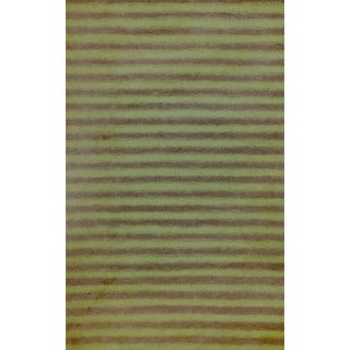 Thick Stripe Outdoor Rug - 3'6 x 5'6