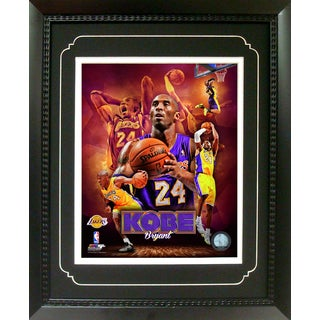 Kobe Bryant Los Angeles Lakers 11-inch x 14-inch Deluxe Frame