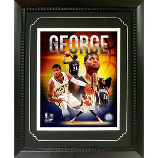 Paul George Indiana Pacers 11-inch x 14-inch Deluxe Frame