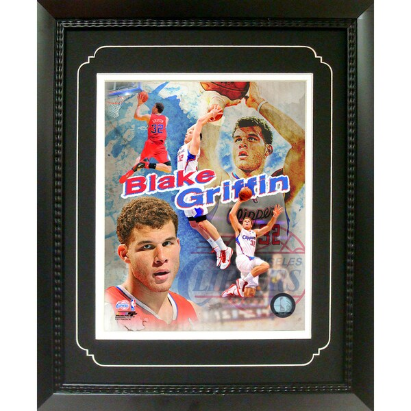 Blake Griffin Los Angeles Clippers 11-inch x 14-inch Deluxe Frame