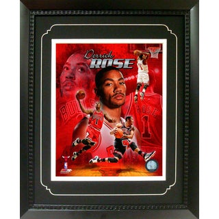 Derrick Rose Chicago Bulls 11-inch x 14-inch Deluxe Frame