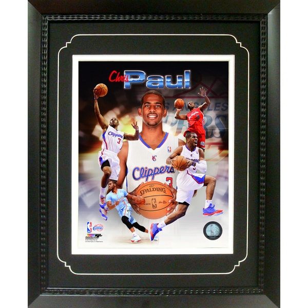 Chris Paul Los Angeles Clippers 11-inch x 14-inch Deluxe Frame