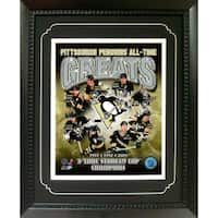 Pittsburgh Penguins Greats 11-inch x 14-inch Deluxe Frame