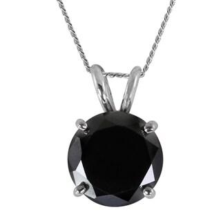 Platinum over Silver 5.5ct Moissanite Pendant