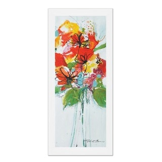 Sabine Berg Joyful Bloom L 22 X 22 Framed Art Print Overstock 10267798