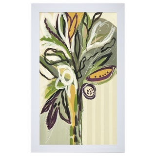 Angela Maritz 'Serene Floral ll' 22 x 28 Framed Art Print