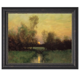 Dennis Sheehan-Summer Moonrise 37 x 26 Framed Art Print