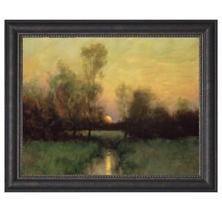 Dennis Sheehan-Summer Moonrise 37 x 26 Framed Art Print