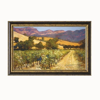 Philip Craig-Wine Country 32 x 24 Framed Art Print