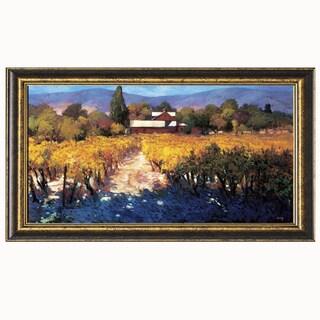 Philip Craig-Vineyard Afternoon 40 x 22 Framed Art Print