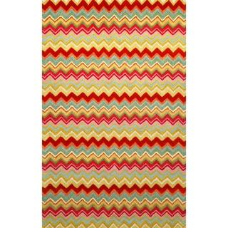 Winding Stripe Indoor Rug (8' x 10')