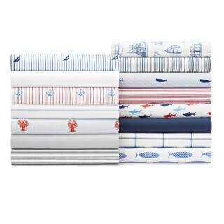 Nautica Cotton Percale Deep Pocket Sheet Sets