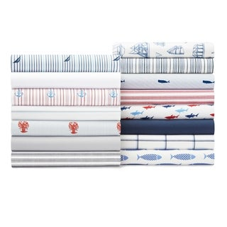 Nautica Cotton Percale Deep Pocket Sheet Sets (More options available)