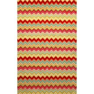 Winding Stripe Indoor Rug (3'6 x 5'6)