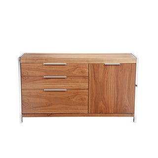 Aurelle Home Mia Sideboard Small Walnut