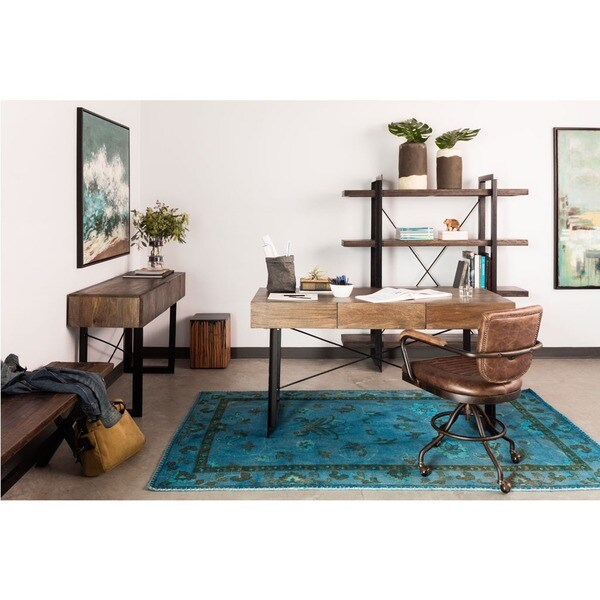Aurelle Home Carin Desk - Free Shipping Today - Overstock.com
