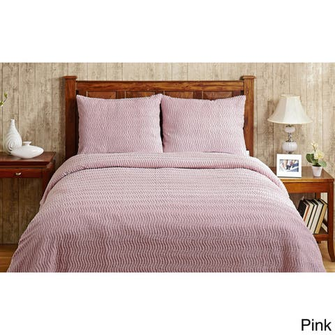 Better Trends Natick Bedspread And Sham