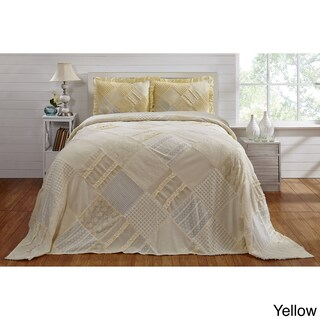 Chenille Ruffled Bedspread by Better Trends (3 options available)
