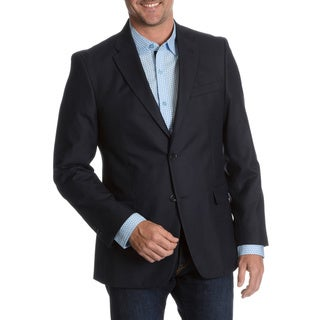 Tommy Hilfiger Men's Blue Trim Fit Suit Separate Two Button Blazer