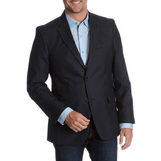 Tommy Hilfiger Men's Blue Trim Fit Suit Separate Two Button Blazer|https://ak1.ostkcdn.com/images/products/10247160/P17365995.jpg?impolicy=medium