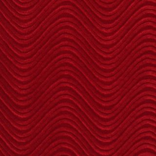 C851 Red Swirl Automotive Residential Commercial Upholstery Velvet (2 options available)