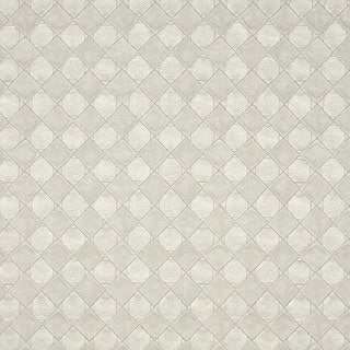 G795 Pearl Shiny Diamonds and Squares Upholstery Faux Leather