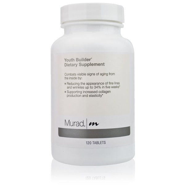 Murad Youth Builder Collagen Dietary Supplement (120 Count)
